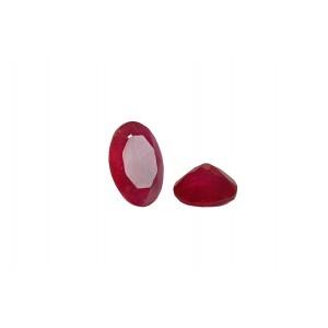 Agate Cut Stone, Pink, Oval, 5 x 7 mm