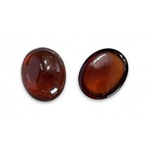 Hessonite Garnet Cabs Oval 10mm x 12mm