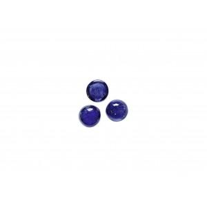 Sapphire Cabs, Round, 2 mm