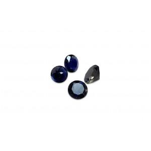 Tanzanite Cut Stone, Round, 3 mm