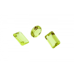 Lemon Topaz Cut Stone, Oval, 10 x 12 mm