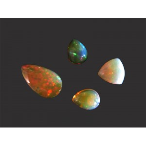 Ethiopian Opal mixed Cabs