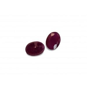Ruby Cut Stone, Oval, 5 x 7 mm