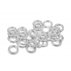 S925 OPEN JUMP RING  (0.6 mm/4.0 mm (ext)