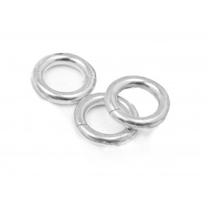 S925 OPEN JUMP RING  (1.5 mm/9.0 mm (ext)