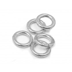 PACK OF, S925 OPEN JUMP RINGS  (1.0 mm/6.5 mm (ext)  [4.5mm int.]