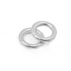 PACK OF, S925 OPEN JUMP RINGS  (2.0 mm/9.0 mm (ext)  [5.0mm int.]