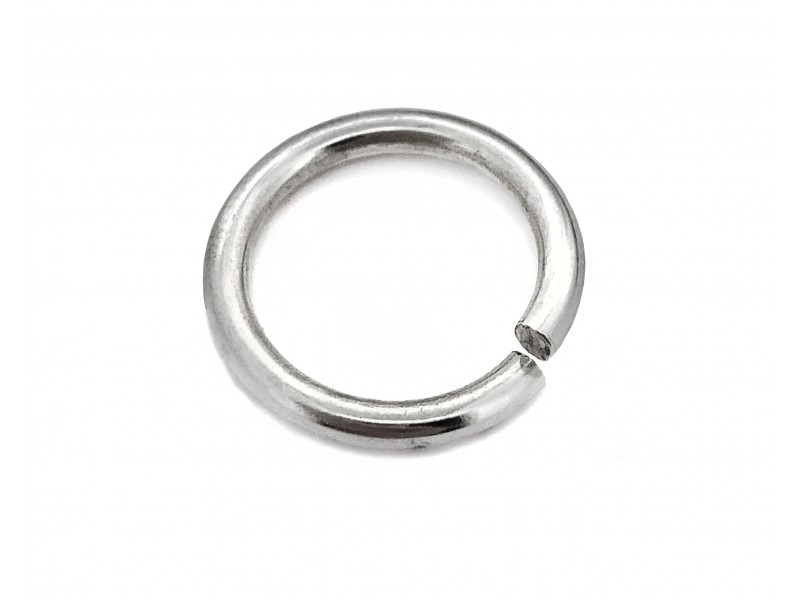 S925 OPEN JUMP RING (2.0 mm/12.0 mm (ext)
