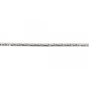 Sterling Silver 925 Diamond Cut Wire 1.2mm