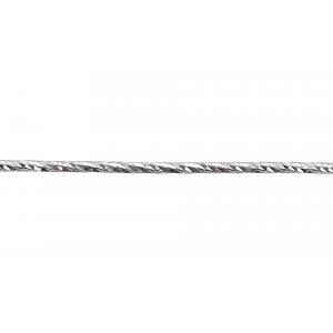 Sterling Silver 925 Diamond Cut Wire 1.2mm