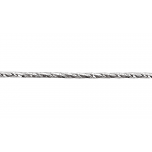 Sterling Silver 925 Diamond Cut Wire 1.5mm