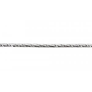 Sterling Silver 925 Diamond Cut Wire 1.5mm