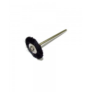 Black Bristle Wheel Brush 2.34 mm