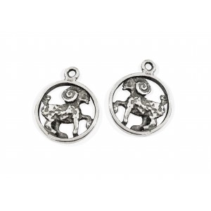 925 SILVER PENDANT - LARGE ARIES SIGN