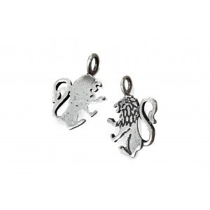 925 SILVER PENDANT - SMALL LION SIGN