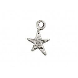 925 SILVER SMALL STAR WHITE