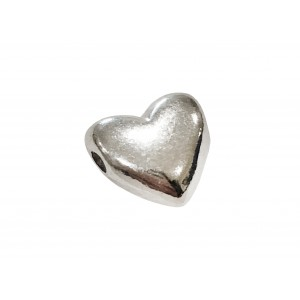 925 SILVER HEART THREADING BEAD