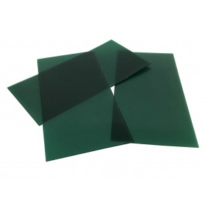 "SHEET WAX - FIRM/GREEN    3"" X 6""   GAUGE 16 (1.3mm)  GR210615/16"
