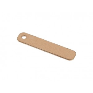 ROSE GOLD FILLED FLAT TAG 16 X 3 MM 3052RF