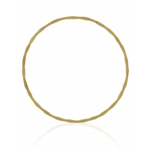 GOLD FILLED HAMMERED BANGLE 67 MM BG367F