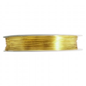 Artistic Wire Tarnish Resistant Brass