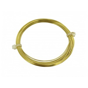 0.80MM BRASS COIL - 6 METERS