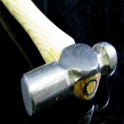 Ball Pein Hammer, 8oz, Head 83 mm