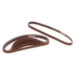 Emery Belts for Santaper sticks, 120 grit, pack of 10