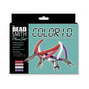 "4-PIECE ""COLOR ID"" PLIER SET"