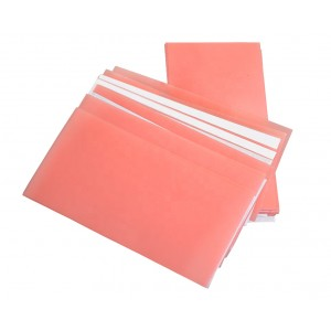 Pink Wax Sheet Soft 0.50mm 3'' x 6''