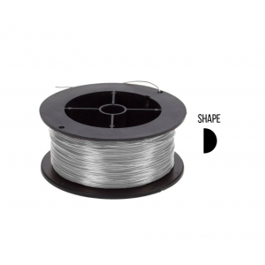 D-shape wire