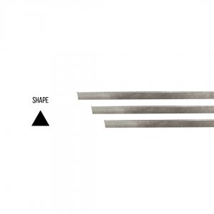 Sterling silver 925 Triangular Rod 3.00mm