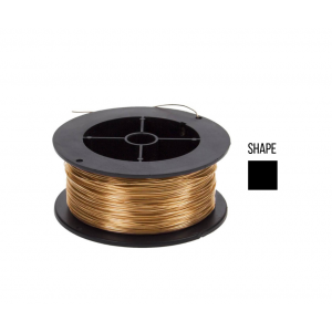 Gold Filled 5% 12K Square Wire 1.5mm half hard Gold Filled Wire