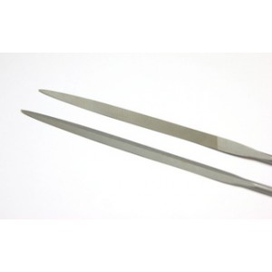 Needle File Barrette Safety Back VALLORBE cut 1 20cm