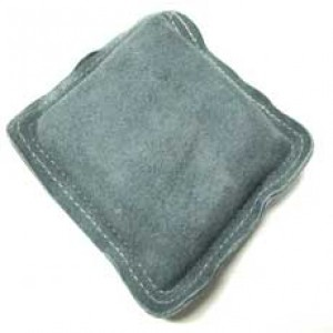 Suede Bench Pad, double stitched sand filled bench pad, 13cmx 13cmx 4cm Flat Plates & Blocks
