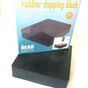 THE BEADSMITH Rubber Dapping Bench Block Flat Plates & Blocks