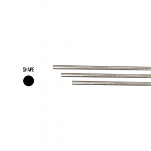 Sterling Silver 925 Round Rod 10mm