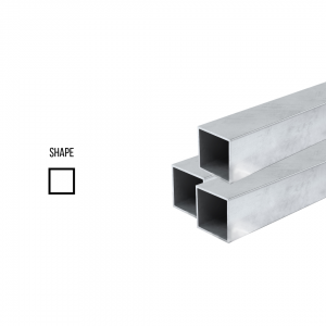 Sterling Silver 925 Square Tube ex. D 11mm, 0.5mm wall