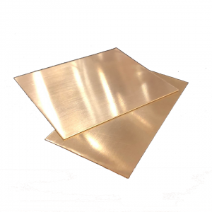 Brass sheet 0.7mm, 5cm x 10cm