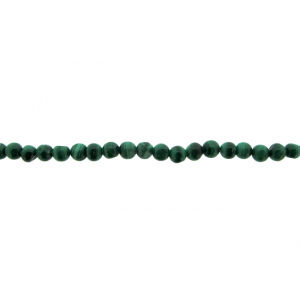 Malachite Round Beads, 3 - 6 mm