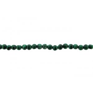 Malachite Round Beads, 3 - 6 mm Malachite Beads