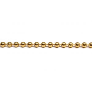 14K Gold Filled Ball Chain / Bead Chain, 1.2mm Gold Filled Ball Chain