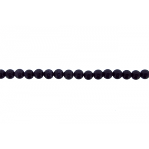 Goldstone Round Beads, Blue, 6 mm Goldstone Beads