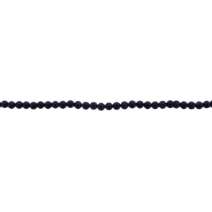 Sandstone Blue Round Beads, 4 mm             Goldstone Beads