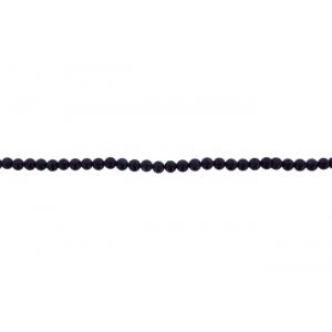 Sandstone Blue Round Beads, 4 mm