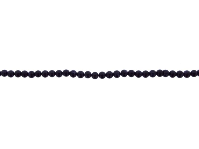 Sandstone Blue Round Beads, 4 mm             Goldstone Beads