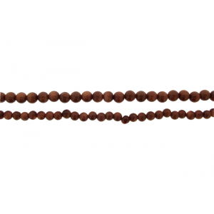 Goldstone Round Beads, Brown, 4 - 6 mm  Goldstone Beads