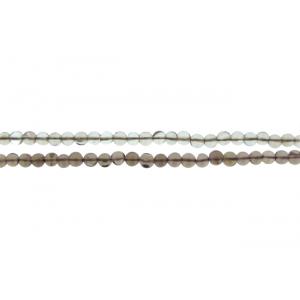 Smoky Quartz Round Beads, 6 mm