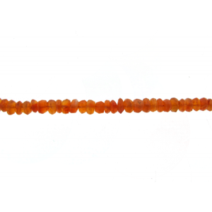 Carnelian Faceted Beads
