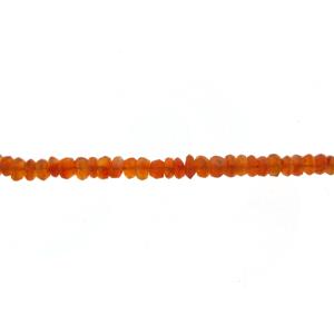 Carnelian Faceted Beads                                 Carnelian Beads